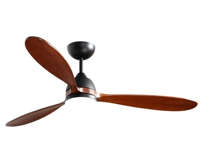 """MYKE CF8063 Ceiling Fan (52"""") (White, Rubber Bronze)"""