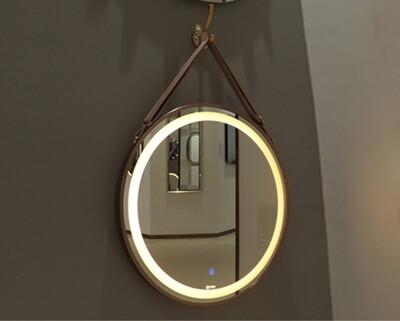 MYKE Wall-Mounted Round Led Bathroom Mirror-325