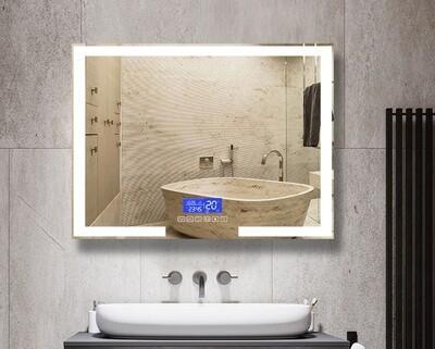 MYKE Led Wall Mounted Led Bathroom Mirror-314A w/ Bluetooth Speaker