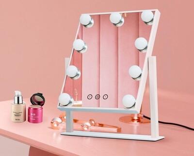MYKE Led Table Top Vanity Mirror-331 (w/ Adjustable Angle)