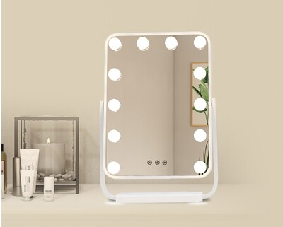 MYKE Led Table Top Vanity Mirror-330A (w/ Adjustable Angle)