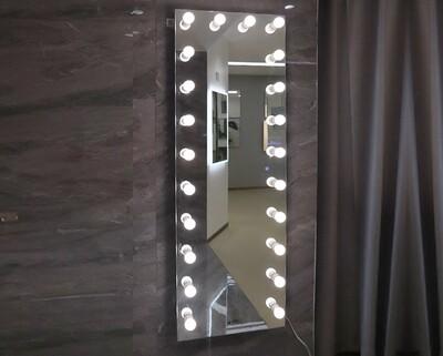 MYKE Vanity Dressing Mirror w/ LED Bulbs