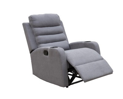 Flotti Enya Manual Recliner 1-Seater/ 2-Seater/ 3-Seater (Gray)
