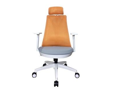 Ofix Korean-108H/ 109H High Back Mesh Chair (All Black, All White, Blue+Grey, Orange+Grey)