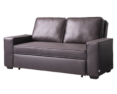 Flotti Atarah Convertible Sofa with Pull-Out Bed (Brown, Grey, Blue)