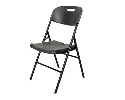 Ofix Wood Grain Folding Chair (Grey)