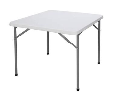 Ofix 86cm Square Table (White)