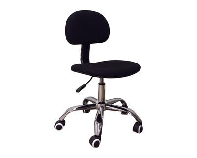 (Sale) Ofix Deluxe-17 Mid Back Mesh Chair (Black) (Backrest Scratches & Torn)