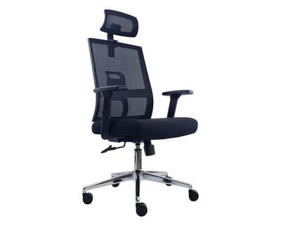 Ofix Deluxe Y32 Ergonomic Office Chair (Black)