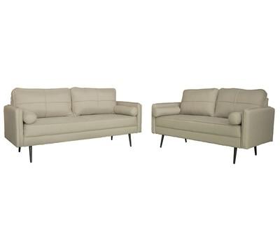 Flotti Zillah 2-Seater Sofa/ 3-Seater Sofa (Grey, Beige, Brown)