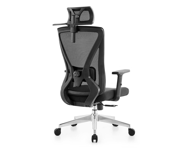 Ofix Korean D18 Ergonomic Office Chair (Black)