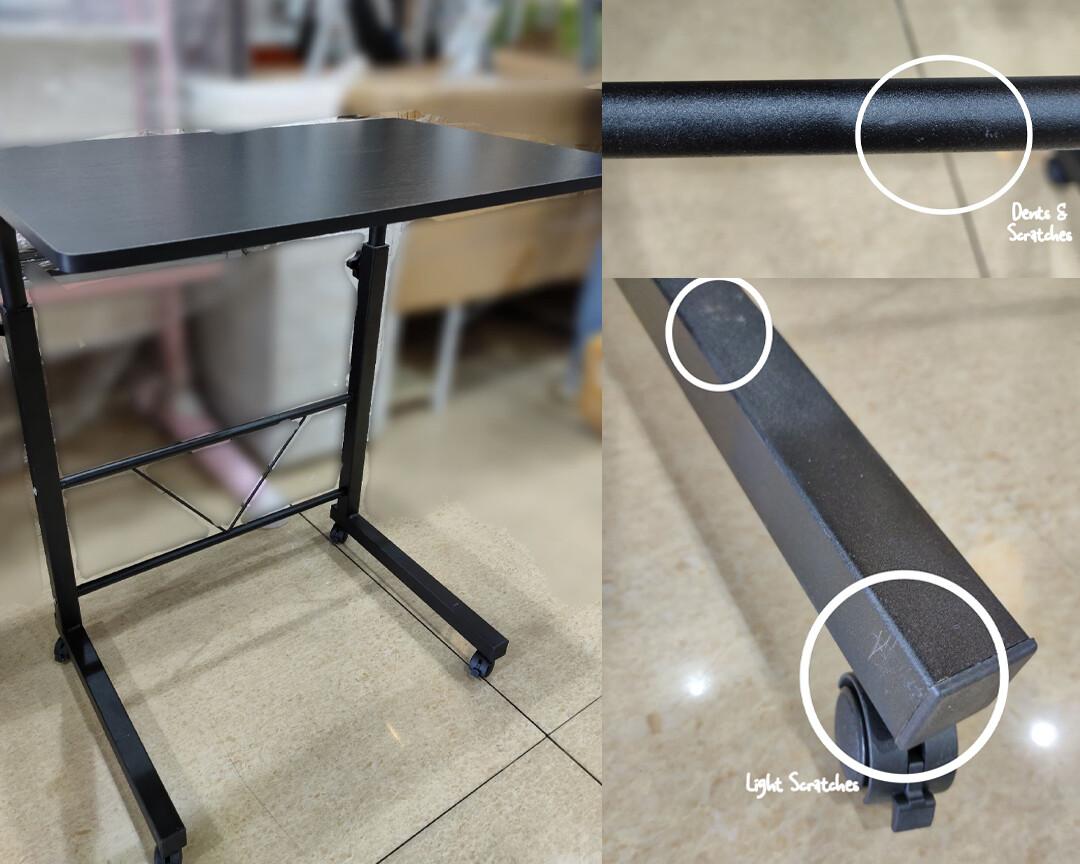 (Sale) Ofix Aurora Multi-functional Bed Side/Laptop Desk (Black Willow) (Scratches & Light Dents)
