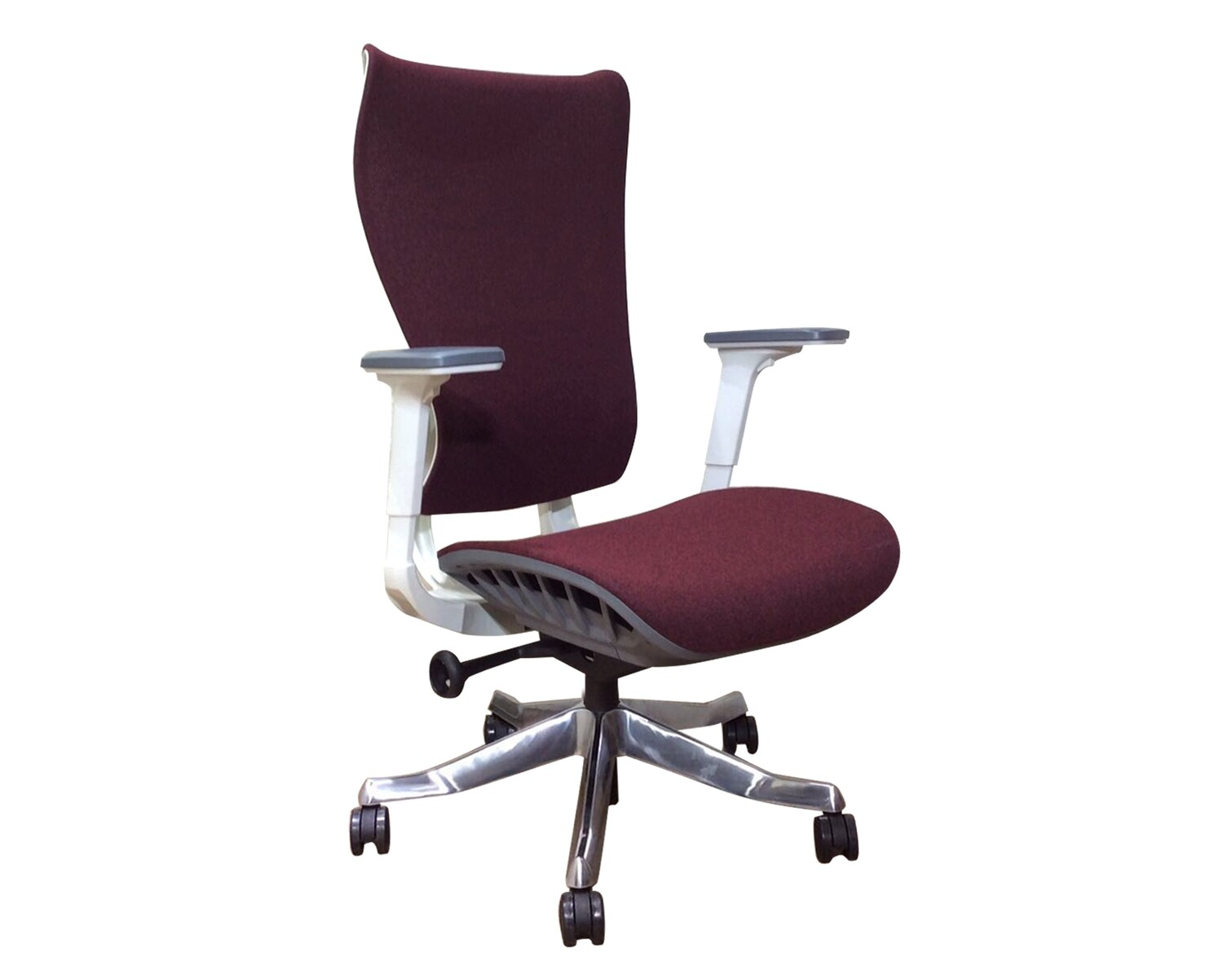 Ofix Premium 24 High Back ALL Mesh Chair (w/ Seat Slide) (Red, Grey)
