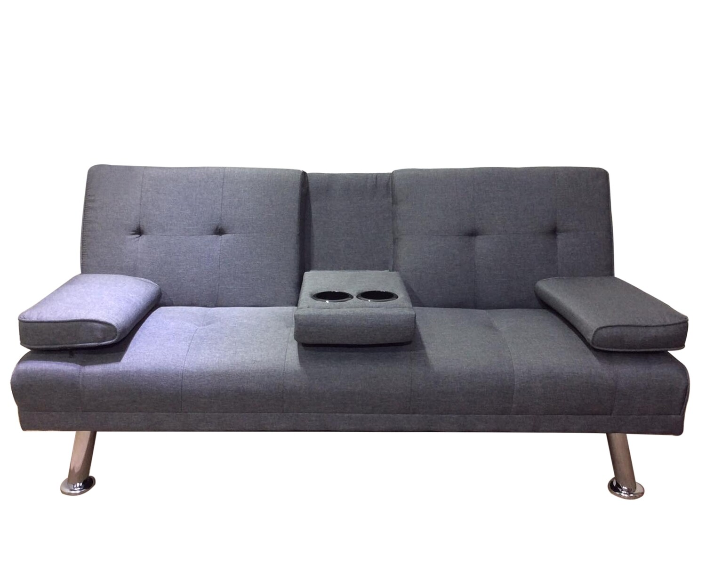 Flotti Valence Sofa Bed (Grey, Brown, Black, Light Blue, Orange, Black PU,  Brown PU, White PU)