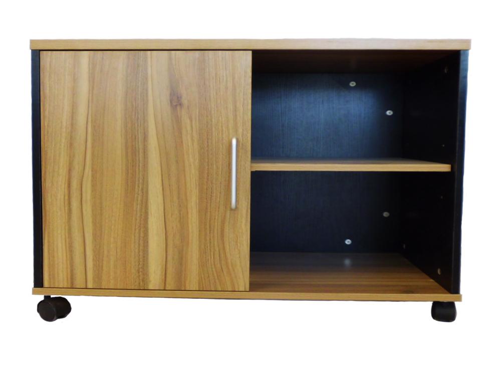 Ofix 209-OF / Mobile Short Side Cabinet / Teakwood