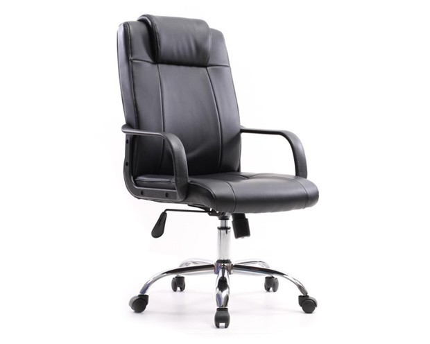 Ofix Deluxe-11 High Back PU Chair (Black)