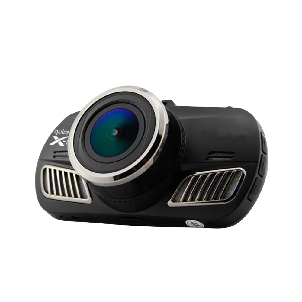 Qube XCAM A12 DashCam (Micro SD Card not included)