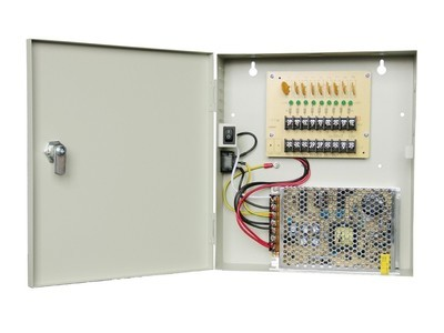 Qube 9CH (15AMPERE) UL CENTRALIZE POWER SUPPLY