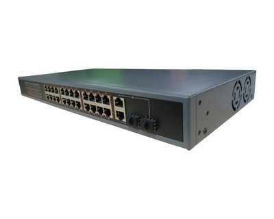 Qube 24 PORT POE ETHERNET SWITCH
