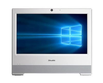 "Shuttle X50V6 All in One Computer 15.6"" Single Touch / Kabylake"