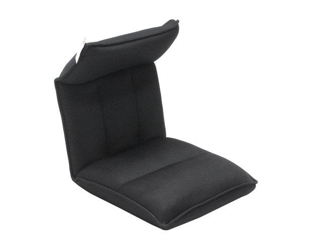 Flotti Japanese-7 Floor Sofa (Black)