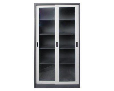 Ofix 5-Layer Glass Sliding Door steel Cabinet