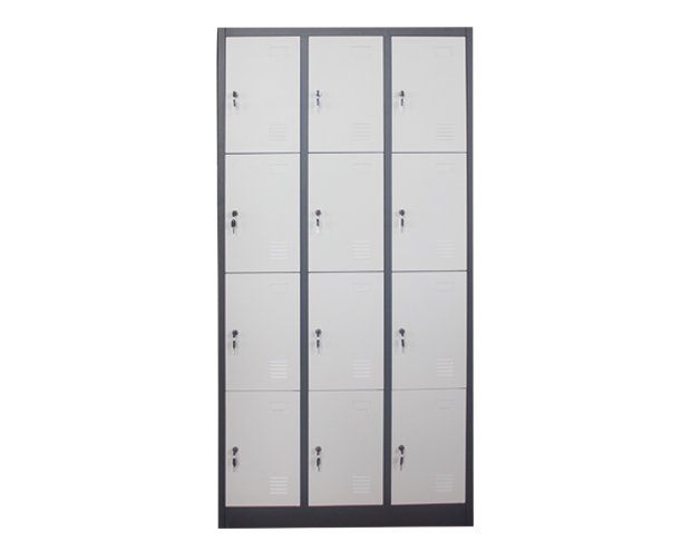 Ofix 12-Door Steel Locker Cabinet