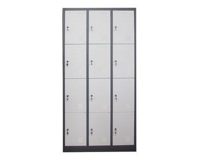Ofix 12-Door Steel Locker Cabinet