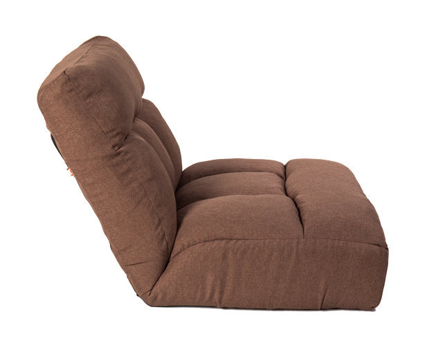 Flotti Japanese-4 Floor Sofa (Chocolate)