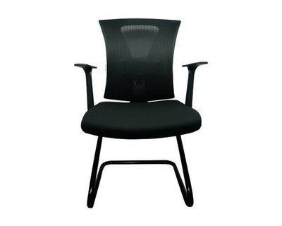 Ofix Korean-9 High Back Mesh Guest Chair (Black)