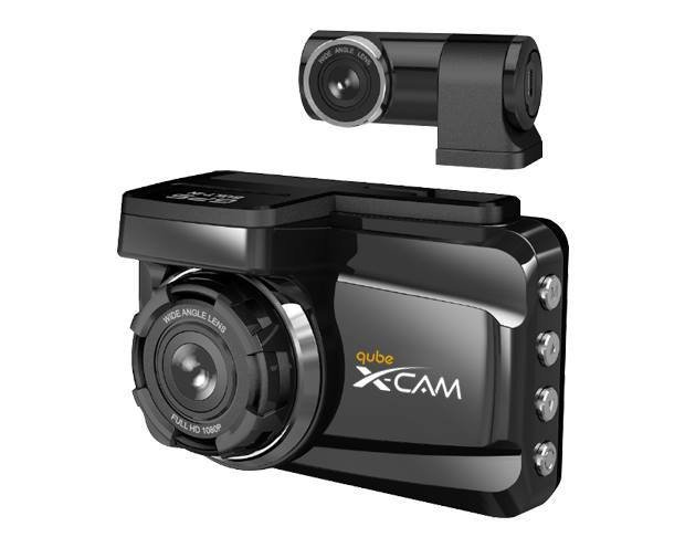 Qube XCAM X2 V2 DashCam (Micro SD Card not included)