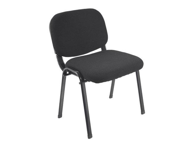 Ofix Deluxe-24 School/Waiting Chair (Black)