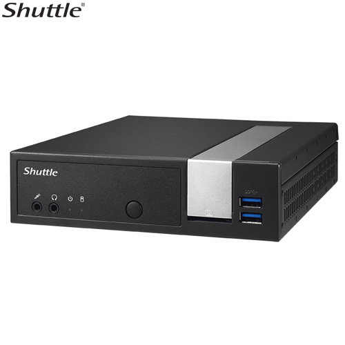 SHUTTLE DL10J Fanless 1 liter PC with Intel Gemini Lake Computer