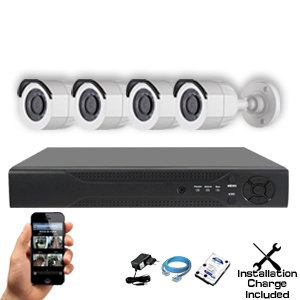 Qube HDTVI 1.3MP to 3MP (Customizable CCTV Package)