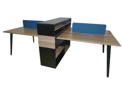 Ofix 001-WS (280x120) 4 Seaters Desk