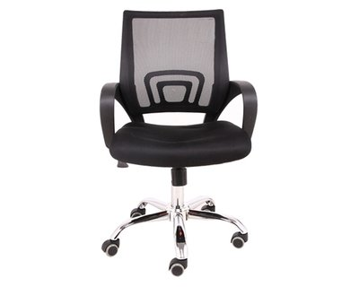 Ofix Deluxe-5 Mid Back Mesh Chair (Black, Blue, Red, Pink, Grey, Purple)
