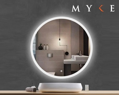 MYKE Illuminated Mirror w/ Defogger 601