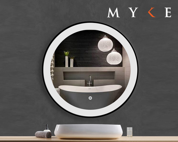 MYKE Illuminated Mirror w/ Defogger 603