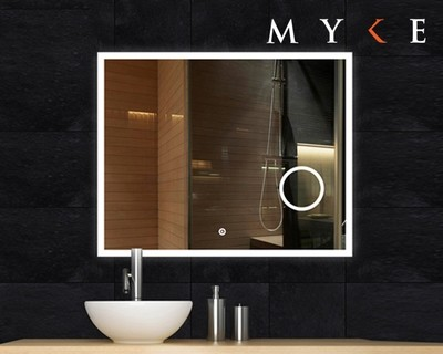 MYKE Illuminated Mirror w/ Defogger 605