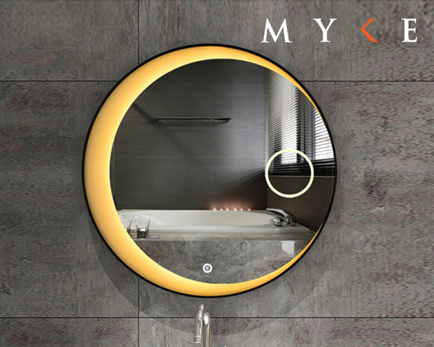 MYKE Illuminated Mirror w/ Defogger 606