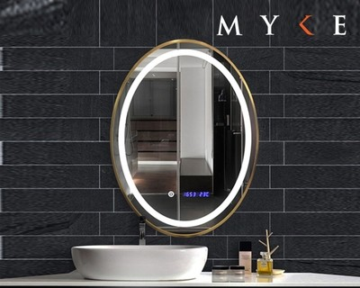 MYKE Illuminated Mirror w/ Defogger 604