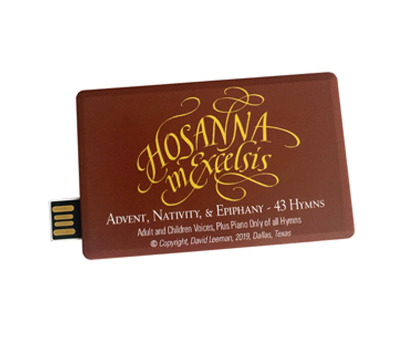 Hosanna in Excelsis USB Recordings