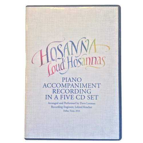 6-CD Set - Piano Accompaniment Recordings