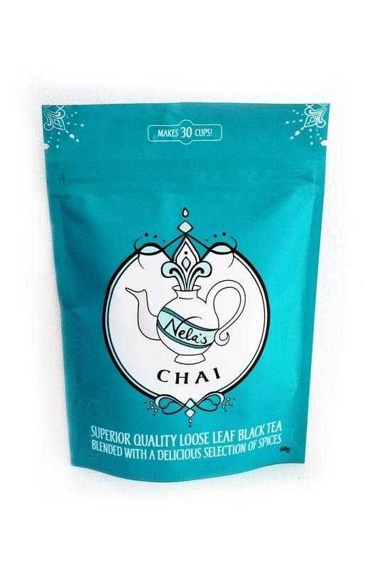 Nela's Chai - Loose Leaf 60g Stayfresh Pouch