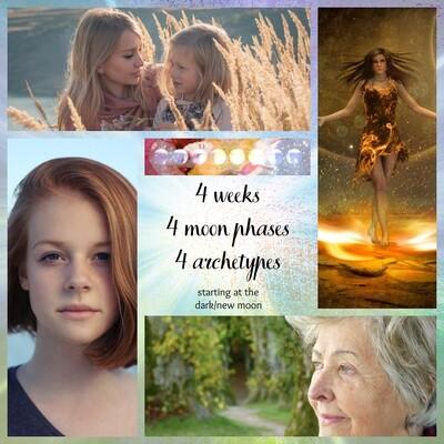 The Woman, The Moon & The Divine Feminine