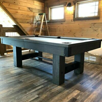 8' Rustic by Kincaid Weathered Black