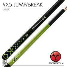 Poison VX5 Green Jump/Break Cue