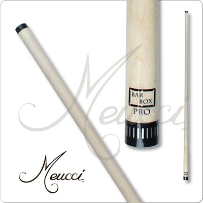 Meucci Pro 12.75mm tip 15/16 18 Joint black collar with silver inlay
