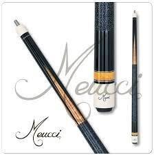 Meucci MEP02 Black Dot Pool Cue me4
