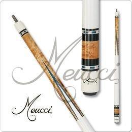 Meucci HOF02 Black Dot Pool Cue me11